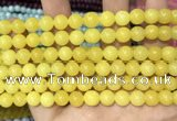 CCN5350 15 inches 8mm round candy jade beads Wholesale