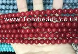 CCN5372 15 inches 8mm round candy jade beads Wholesale
