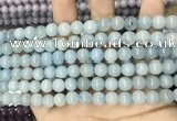 CCN5394 15 inches 8mm round candy jade beads Wholesale