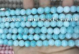 CCN5398 15 inches 8mm round candy jade beads Wholesale
