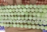 CCN5414 15 inches 8mm round candy jade beads Wholesale