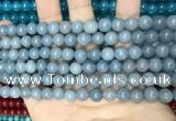 CCN5425 15 inches 8mm round candy jade beads Wholesale