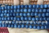 CCN5435 15 inches 8mm round candy jade beads Wholesale