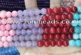CCN5467 15 inches 8mm round candy jade beads Wholesale