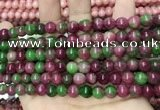 CCN5484 15 inches 8mm round candy jade beads Wholesale