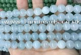 CCN5506 15 inches 8mm round candy jade beads Wholesale