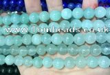 CCN5510 15 inches 8mm round candy jade beads Wholesale