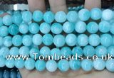 CCN5511 15 inches 8mm round candy jade beads Wholesale