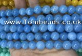 CCN5522 15 inches 8mm round candy jade beads Wholesale