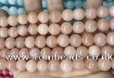 CCN5540 15 inches 8mm round candy jade beads Wholesale