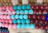 CCN5551 15 inches 8mm round candy jade beads Wholesale