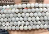 CCN5576 15 inches 8mm round matte candy jade beads Wholesale