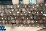 CCN5680 15 inches 8mm faceted round candy jade beads