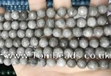 CCN5688 15 inches 8mm faceted round candy jade beads