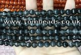 CCN5701 15 inches 8mm faceted round candy jade beads