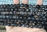 CCN5702 15 inches 8mm faceted round candy jade beads