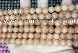 CCN5710 15 inches 8mm faceted round candy jade beads