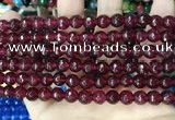 CCN5733 15 inches 8mm faceted round candy jade beads