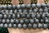 CCN5770 15 inches 10mm faceted round candy jade beads