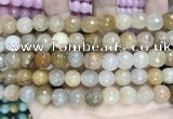 CCN5823 15 inches 10mm faceted round candy jade beads