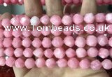 CCN5842 15 inches 8mm faceted nuggets candy jade beads Wholesale