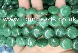CCN5906 15 inches 15mm flat round candy jade beads Wholesale
