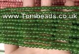 CCN6000 15.5 inches 4mm round candy jade beads Wholesale