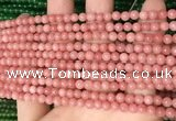 CCN6001 15.5 inches 4mm round candy jade beads Wholesale