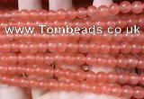 CCN6044 15.5 inches 6mm round candy jade beads Wholesale
