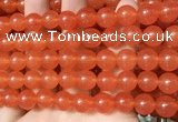 CCN6050 15.5 inches 10mm round candy jade beads Wholesale
