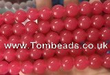 CCN6059 15.5 inches 12mm round candy jade beads Wholesale