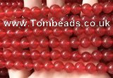 CCN6061 15.5 inches 8mm round candy jade beads Wholesale