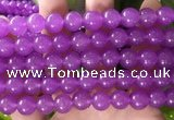 CCN6065 15.5 inches 8mm round candy jade beads Wholesale