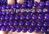 CCN6090 15.5 inches 10mm round candy jade beads Wholesale