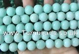CCN6116 15.5 inches 12mm round candy jade beads Wholesale