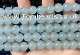 CCN6127 15.5 inches 10mm round candy jade beads Wholesale