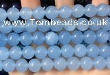 CCN6147 15.5 inches 10mm round candy jade beads Wholesale