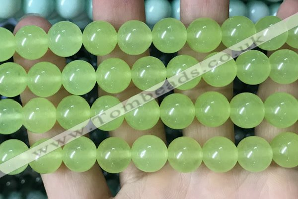 CCN6151 15.5 inches 10mm round candy jade beads Wholesale