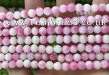 CCN6190 15.5 inches 6mm round candy jade beads Wholesale
