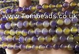 CCN6198 15.5 inches 8mm round candy jade beads Wholesale
