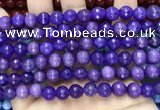 CCN6319 15.5 inches 8mm faceted round candy jade beads Wholesale