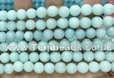 CCN6323 15.5 inches 8mm faceted round candy jade beads Wholesale