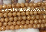CCN6346 6mm, 8mm, 10mm, 12mm & 14mm faceted round candy jade beads
