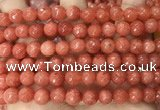 CCN6348 6mm, 8mm, 10mm, 12mm & 14mm faceted round candy jade beads