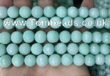 CCN6353 6mm, 8mm, 10mm, 12mm & 14mm faceted round candy jade beads
