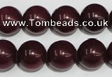 CCN73 15.5 inches 14mm round candy jade beads wholesale