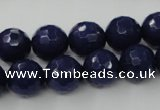 CCN833 15.5 inches 12mm faceted round candy jade beads wholesale