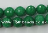 CCN865 15.5 inches 16mm faceted round candy jade beads