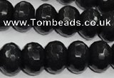 CCN941 15.5 inches 12*16mm faceted rondelle candy jade beads