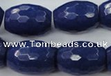 CCN970 15.5 inches 18*25mm faceted drum candy jade beads